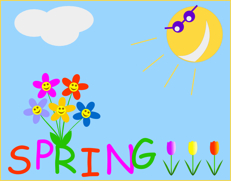 spring day clip art - photo #45